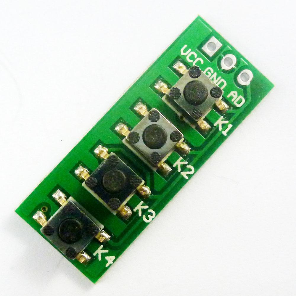 Keypad and sensor board