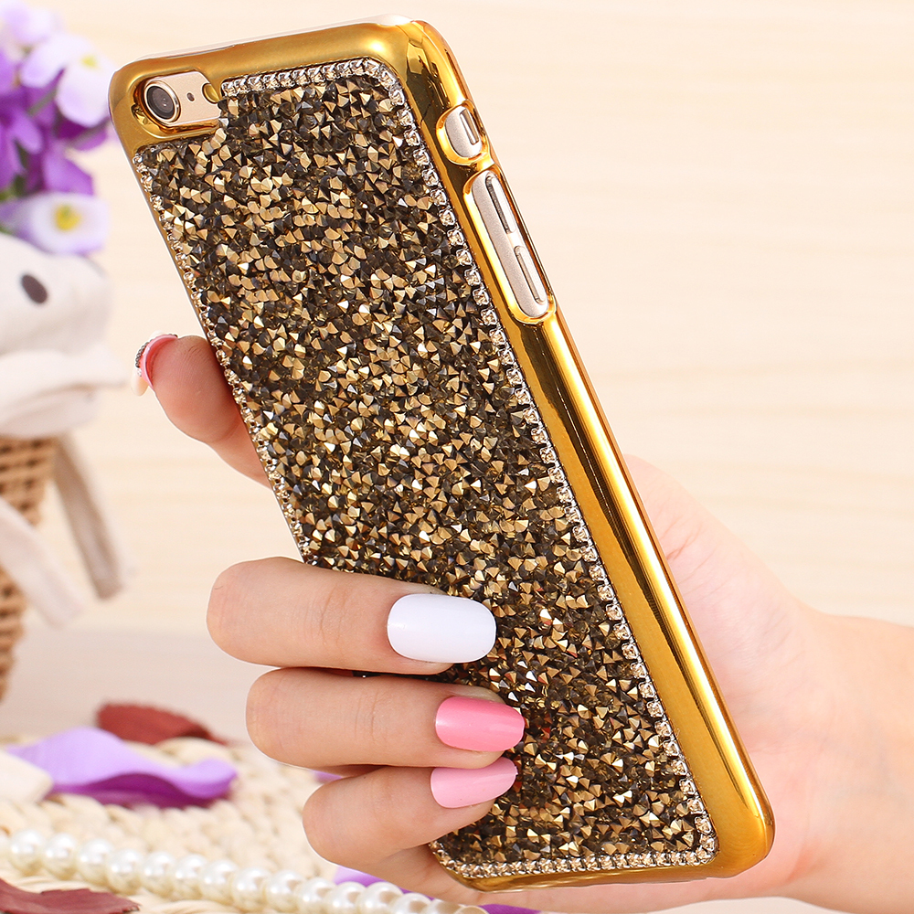 bdacfaf2e For iPhone 6 Fashion Back Cover Luxury Glitter Bling Rhinestone Diamond Case  For iPhone 6 4