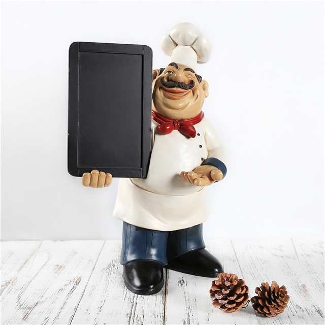 Factory Price Resin Chef Figurines Fat Kitchen Decor Buy Product On Alibaba Com