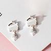 Silver White opal