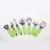 HD-YC12  Wholesale  7PC kitchen gadgets with Beautiful plastic handle