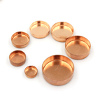 Custom Copper Welding Pipe Fittings End Caps For Copper Pipe