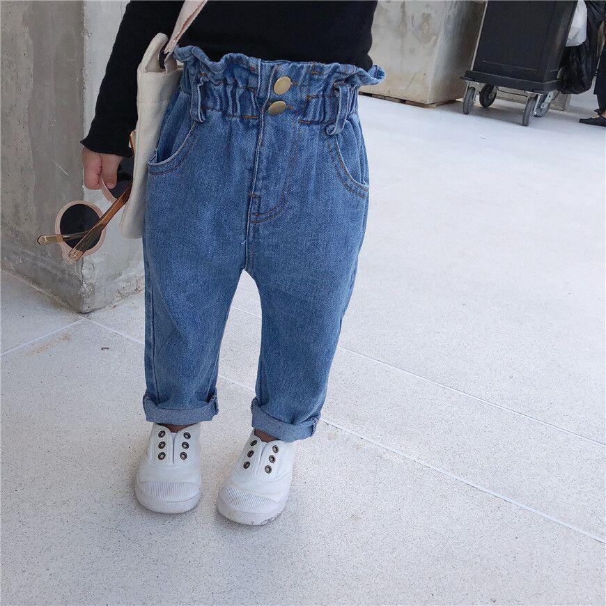 Venta Al Por Mayor Ultimo Globo Azul Jeans Para Ninas Ninos Pantalones Vaqueros De Cintura Alta Buy Jeans Alta Cintura Jeans De Alta Calidad Vaqueros Ultimos Jeans Para Las Ninas Product On