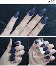 Женские накладные ногти естественного цвета, искусственные ногти 10 шт., матовые поддельные формы для ногтей для наращивания, маникюр(Китай)
