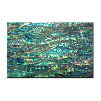 High quality Japanese abalone /paua shell wall paper flexible laminated