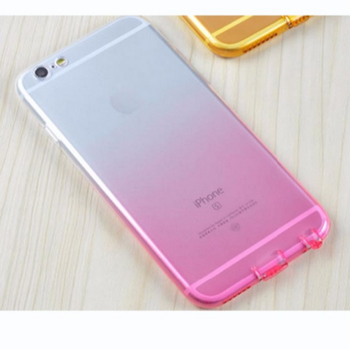 Phone Cases For iPhone 8 7 6s 4 4s 5 5C se Ultra Slim Gradient Color Soft Silicone Case For iPhone 8 7 6 s Plus Coque Back Cover