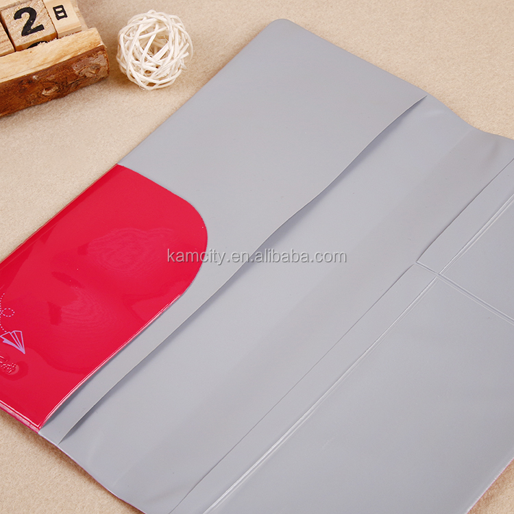 PVC Travel long document holder for passport and card