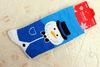 Детская маскарадная одежда, нарядное голубое платье «Снежная человек