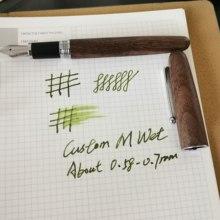Авторучка Jinhao, деревянная чернильная ручка #6, Размер F/M, для офиса, школьные письменные принадлежности подарок(Китай)