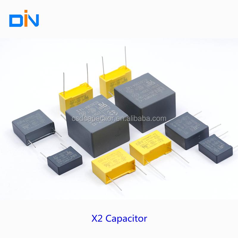 CSD X2 Capacitor MPX/MKP/ Suppression Capoacitor /X2 Film Capacitor