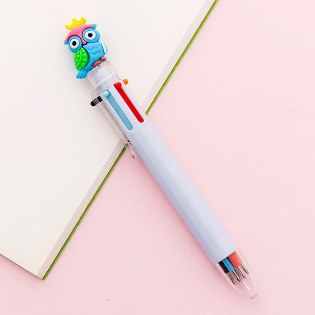 Красочные животные Единорог шариковая ручка креативная Милая ручка