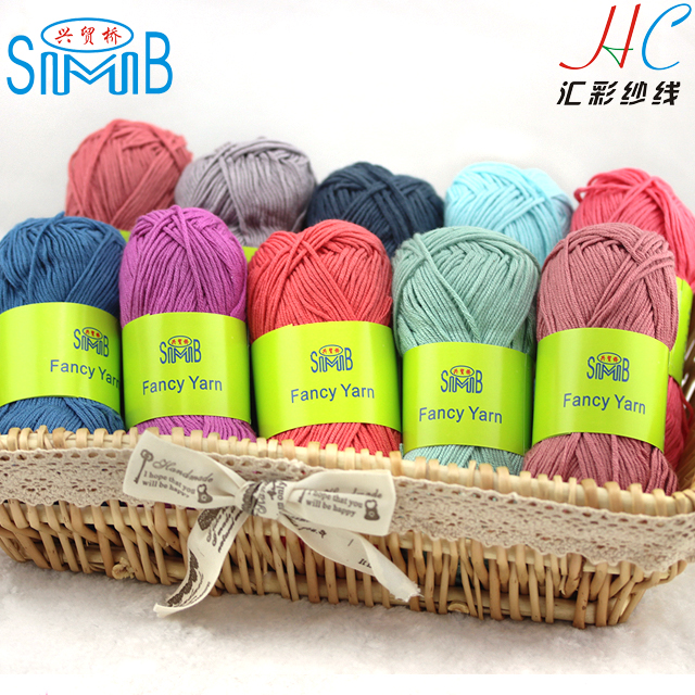 High quality Super soft smooth natural bamboo summer breathable bamboo bulky yarn crochet Hand knitting bamboo cotton yarn