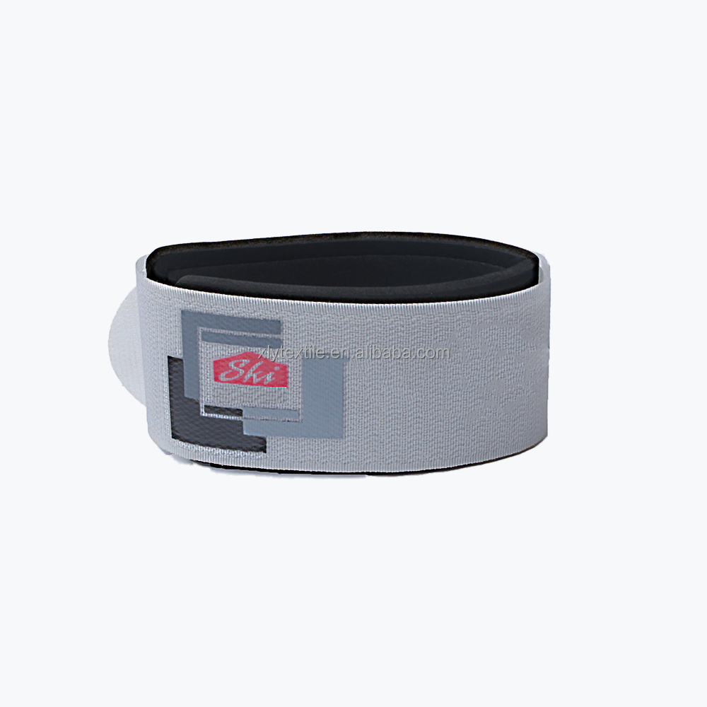 New Design manufactures self adhesive snowboard ankle hook and loop strap Ski accessories
