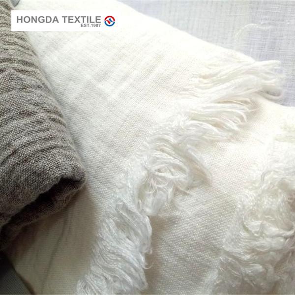 Одеяла из 100% чистого льна с оборками