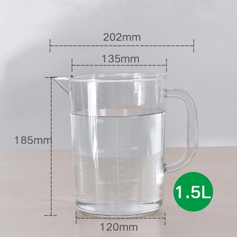 1 л, необычная кухонная Термокружка для приготовления пищи на заказ, для холодной воды, для напитков, пластиковая цифровая мерная чашка для ПК