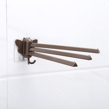 Многофункциональная стойка для полотенец, вращающаяся стойка для полотенец, ванная комната, кухня, настенный держатель для полотенец, Полк...(Китай)