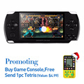 Free Shipping Handheld Game Console 8Gb Memory With Mp4 Mp5 Function Tablet Video Game Built In