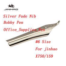 Оригинальный наконечник Jinhao #6 35 мм для Jinhao X750/450/159/100, чернильная ручка, канцелярские принадлежности для офиса, школьные принадлежности(Китай)