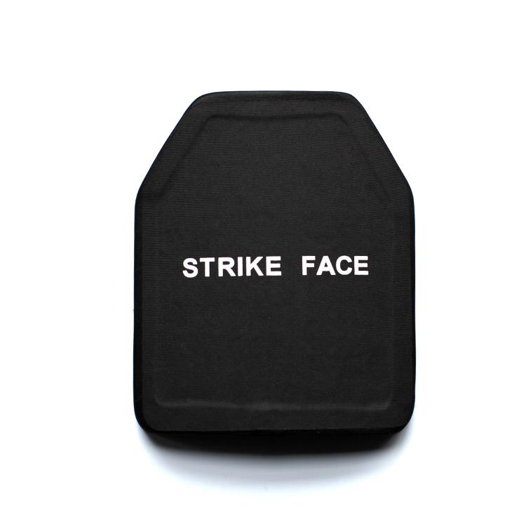 Ceramic ballistic bulletproof NIJIIIA level plate for sale