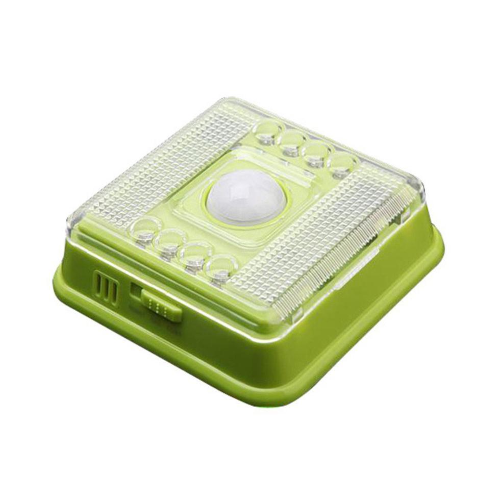 Imc зеленый пир инфракрасная 8 из светодиодов автоматический движение датчик ночь лёгкие беспроводная