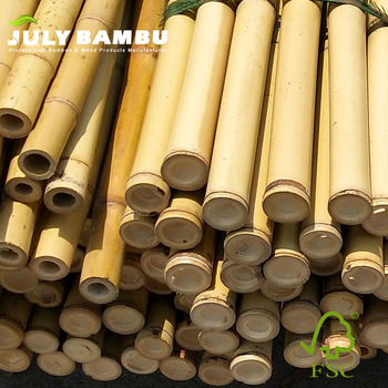 Eco-friendly raw bamboo cane poles best price bamboo pole for construction
