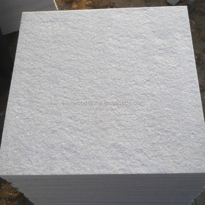 Огненная белая кварцевая каменная плитка