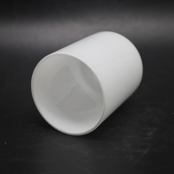 made opal white glass shade lamp Factory cheap Cylindrical lamp shape Euro frosted glass lamp shade glass light shade
