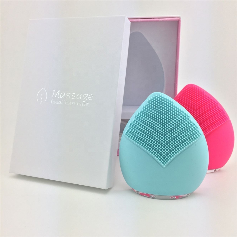 Beauty tools new korea beauty devices silicone beauty products silicone electric facial cleansing brush
