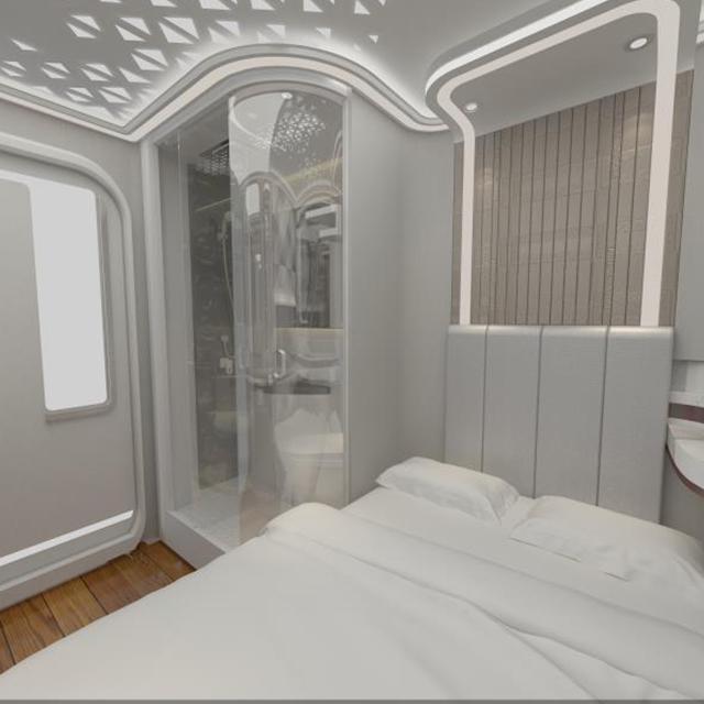 2018 new design pod hotel, Standard Queen Room