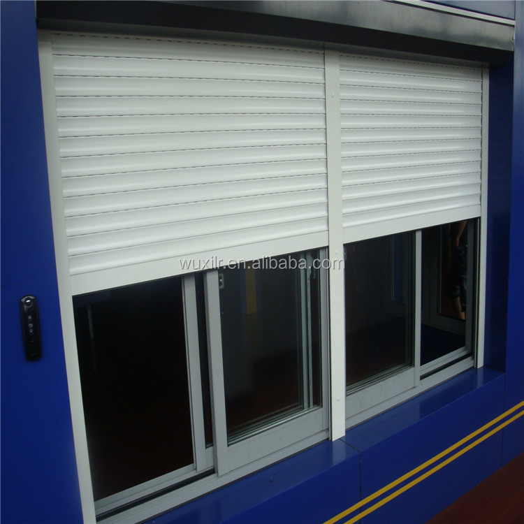 Exterior Automatic Aluminum Roller Shutter High Speed