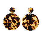Earrings Earrings Top Selling Jewelry Customized Tortoise Shell Acetate Earrings Acrylic Jewelry Resin Earrings