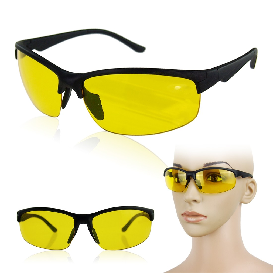 29812d5555 Wholesale New Arrival High Definition Night Vision Glasses Driving ...