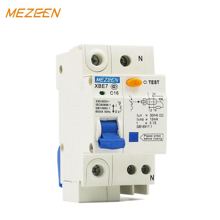 rccb and rcbo 30mA 1P 32A 230V 50/60hz