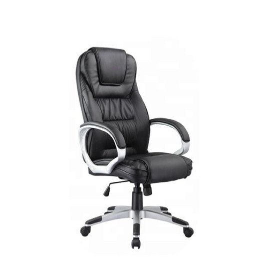 Pu Leather Revolving Chair Swivel Chair For Office Use Oem Executive Office Chair Promotion High Quality For Manager Desk Use Buy Pu Leather Office Chair Office Chair Leather Chair Product On Alibaba Com