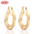 Wholesale Indian Fashion Big Brass Hoop Earrings For Girls