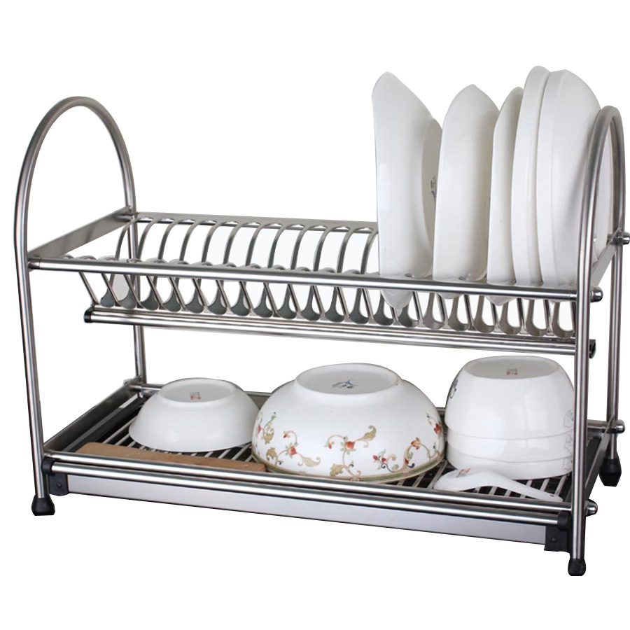 sus304 stainless steel dish drainer drying rack cutlery holder dish drainer utensil tool. Black Bedroom Furniture Sets. Home Design Ideas