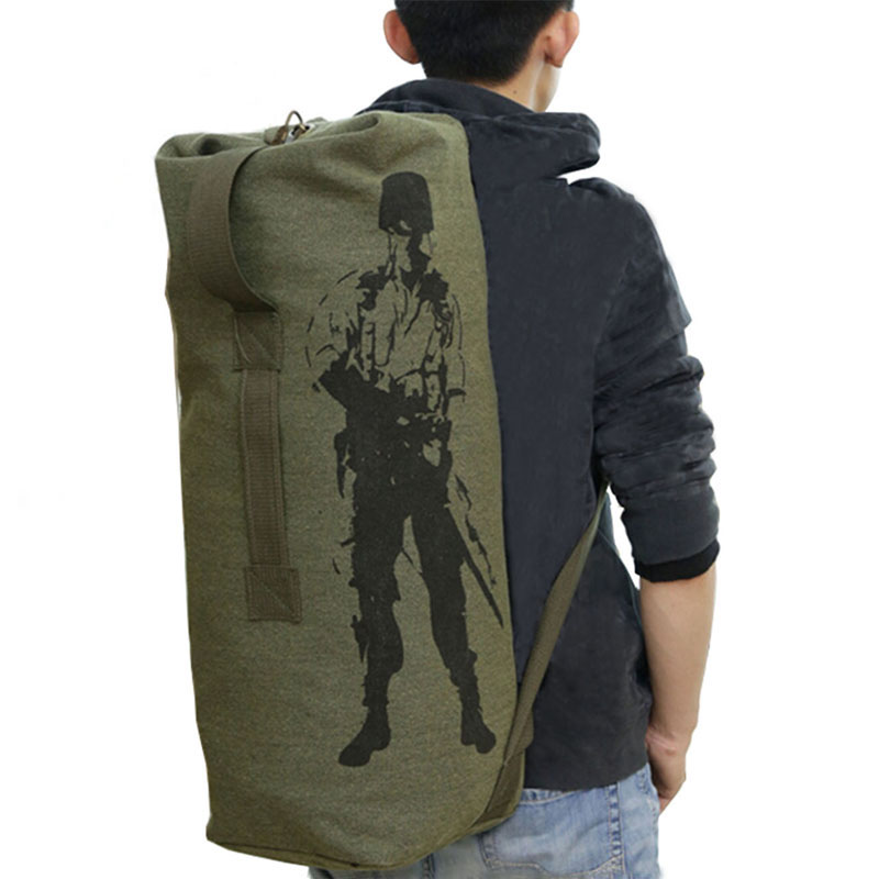 6230b4fe2 Outdoor Travel Luggage Army Bag Men Military Backpack Canvas Mountain Hiking  Backpack Camping Tactical Rucksack mochila XA820C