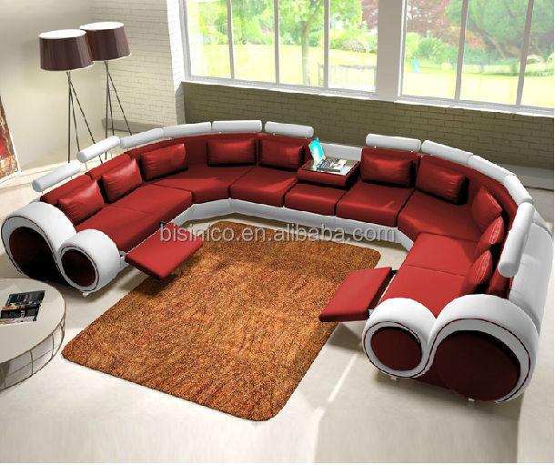 New Design Modern Creative U Shape Genuine Leather Sectional Sofa,Italian Design Sofa Set For Living Room Bf05-0928 - Buy Sectional Sofa,Genuine Leather Sectional Sofa,U Shape Genuine Leather Sectional Sofa Product On Alibaba.com