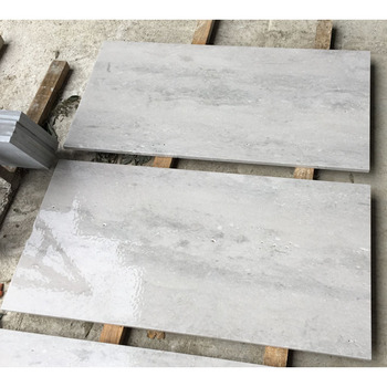 Natural Wall Stone Tumbled China white Travertine Marble Tile Flooring