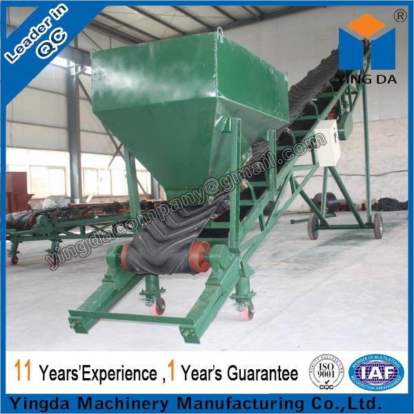 ленточный транспортер для зерна передвижной
