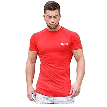 Gym Muscle Tshirt Workout Jersey Customize Stretchy Warm Up Shirts for Gym Sports from Wholesale Garment Manufacturer