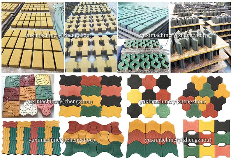 Factory Price Press Batako Paving Block Making Price Brick Machine In Pakistan