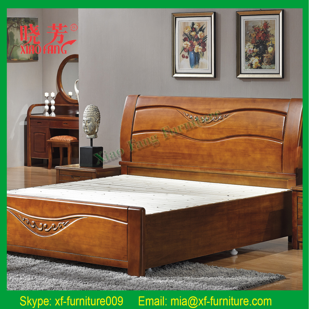 Indian Simple Wooden Bed Designs