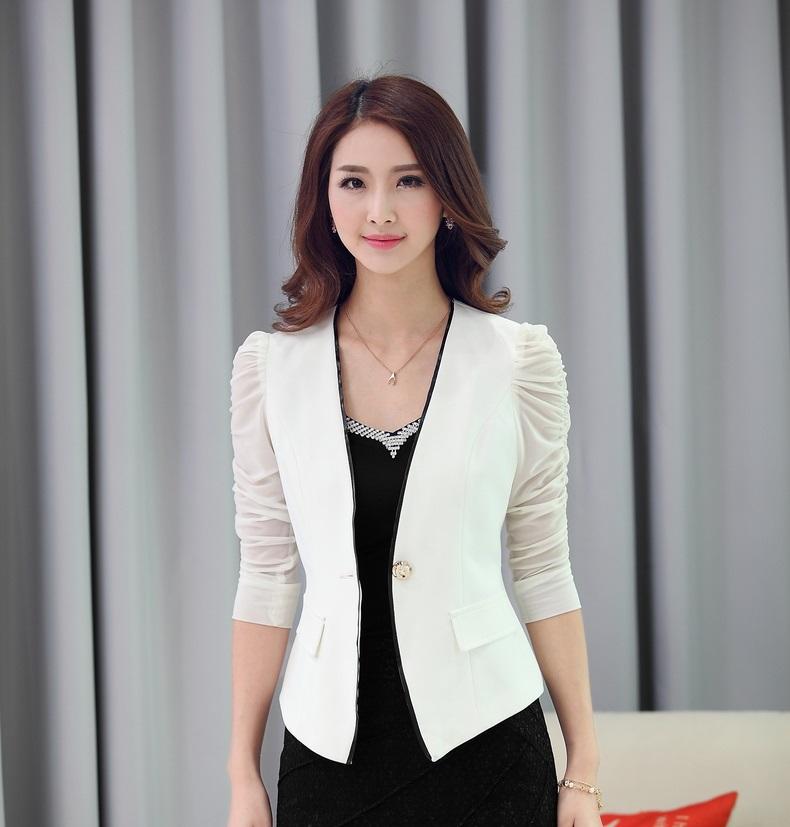 Womens white jackets blazers