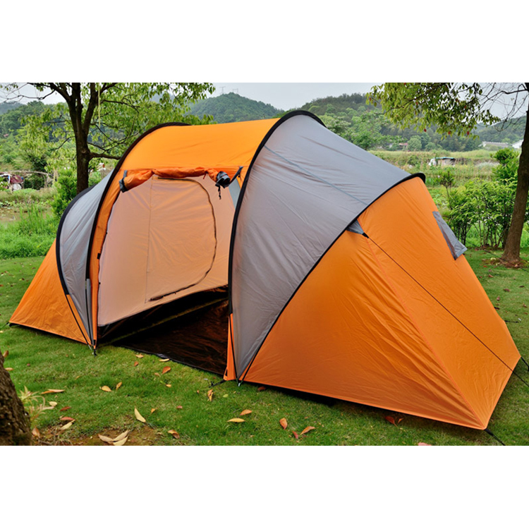 2 Room 4 Person Canvas Portable Air Conditioner Camping Tent View 4 Person Tent Customers Brand Neutral Product Details From Wuyi Trust Leisure Products Co Ltd On Alibaba Com