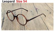 Маленькие Средние Большие размеры ретро круглые очки рамы дети взрослые негабаритные очки для лица оправа 0 прозрачные линзы 43/45/47/50/52/54/58(Китай)