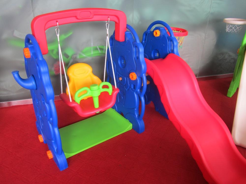 Zhongkai открытый пластиковых слайдов с качели для детей на скидка