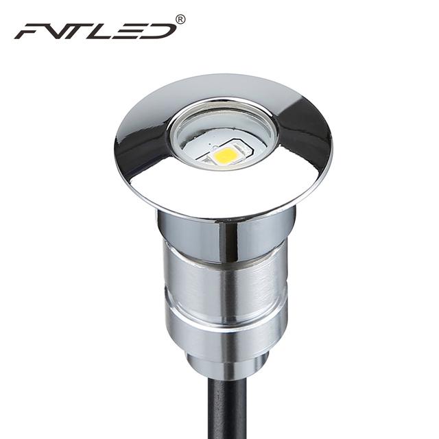 buy ip67 24mm mini led deck lights 12v 0 6w recessed led stairs lamp for. Black Bedroom Furniture Sets. Home Design Ideas