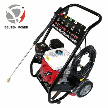 150bar 2200psi 6.5hp gasoline high pressure washer petrol cleaning equipment foam car washing machine with CE