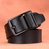 Nero fibbia-cintura nera
